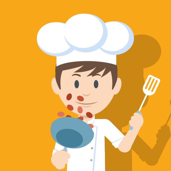 Marco Guandalini  ( il patrono della cucina)